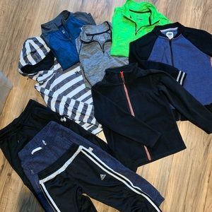 Other - Lot of boys 6-7 clothing. Active tops and pants